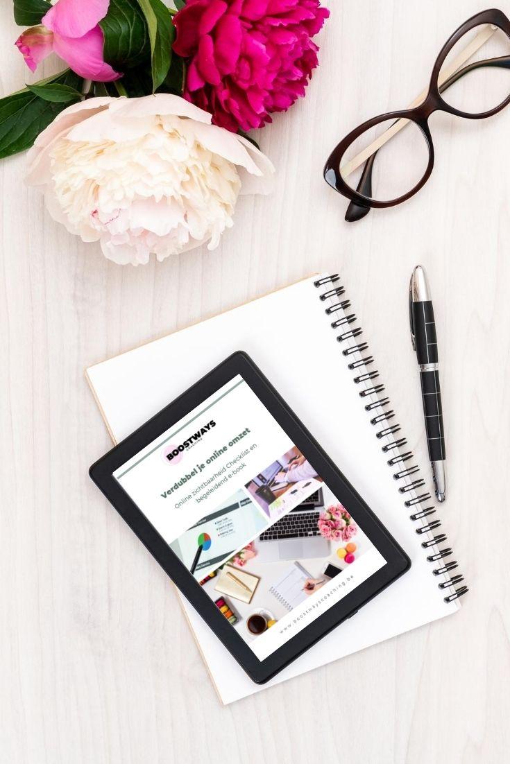 Online Zichtbaarheid Checklist & E-book
