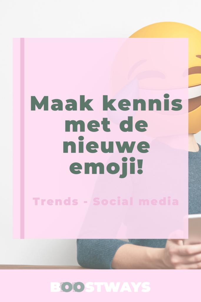 Dit zijn de nieuwe emoji!