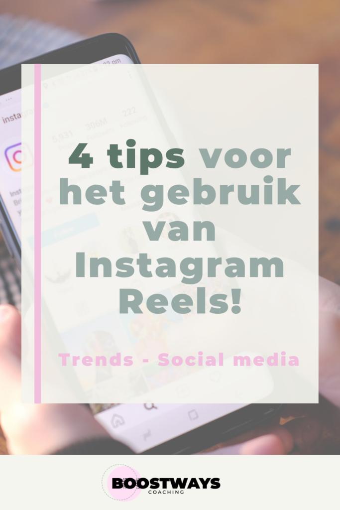 4 tips voor het gebruik van Instagram Reels