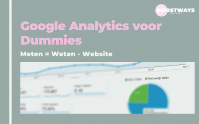 Google Analytics voor Dummies