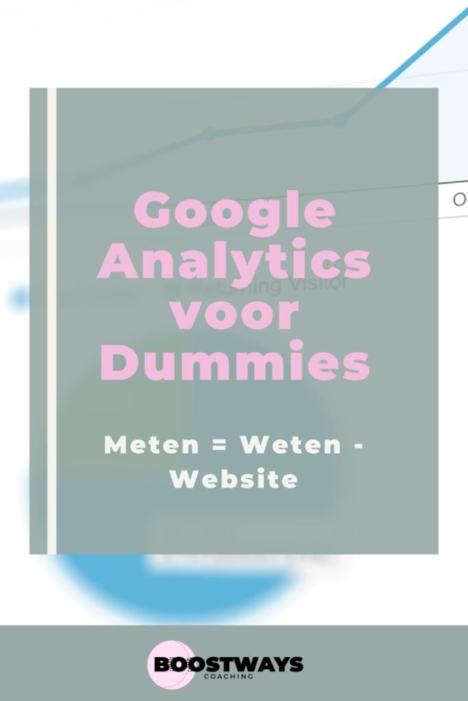Google Analytics voor Dummies